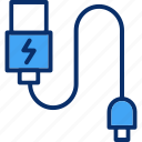 cable, computer, data, wire icon