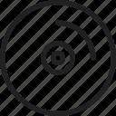 audio, audio cd, compact disc, music, recording icon icon