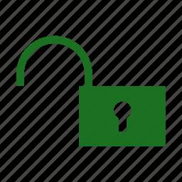 computer, lock, private, public, share, unlocked icon