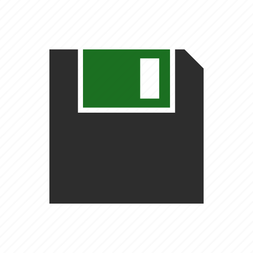 computer, disk, diskette, floppy, old, record, save icon