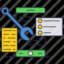 code, internet, programmin, repair, support, website icon