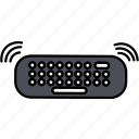 keyboard, keypad icon