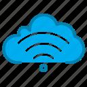 cloud, communication, ui, wifi icon