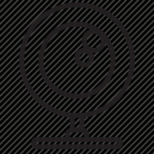 computer, database, internet, networks, online, webcamera icon