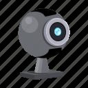 accessories, camera, computer, equipment, internet, web icon