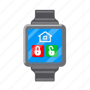 accessories, computer, equipment, gadget, internet, watch, wrist icon