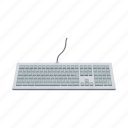 accessories, computer, equipment, internet, keyboard, typing icon