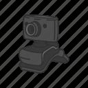 camera, computer, computer camera, peripherals, picture, video camera, webcam icon