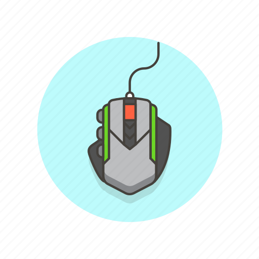 computer, device, gaming, mouse, programming, technology icon