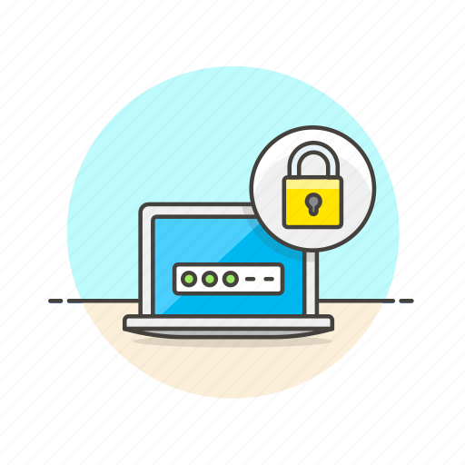computer, device, encypt, internet, lock, programming, technology icon