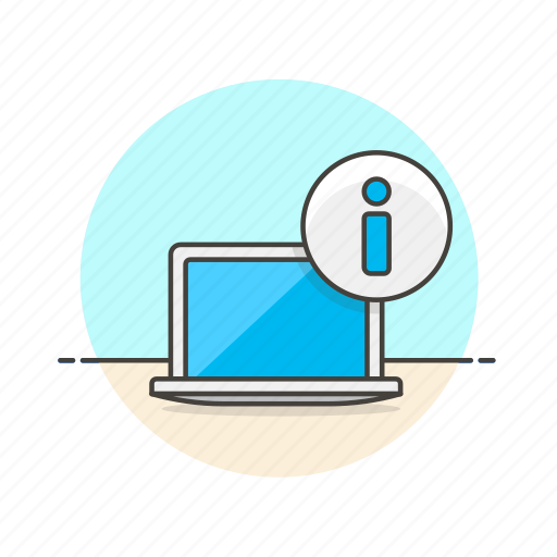 computer, device, information, internet, laptop, monitor, programming, technology icon