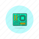 chip, computer, device, programming, silicon, technology icon