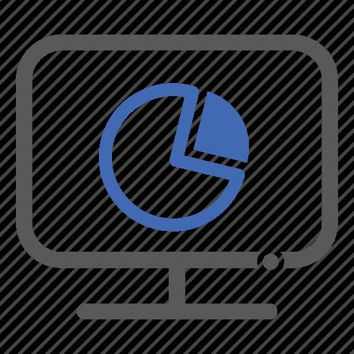chart, computer, diagram, graph icon