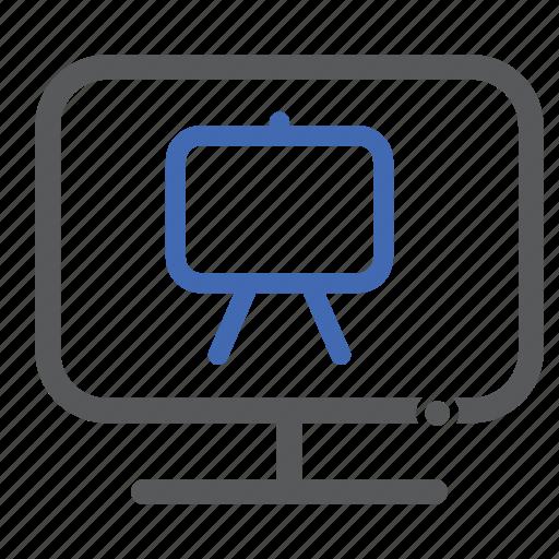 Computer, ppt, presentation icon - Download on Iconfinder