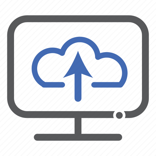 cloud, computer, storage, upload icon