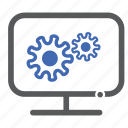 admin, computer, configuration, settings icon