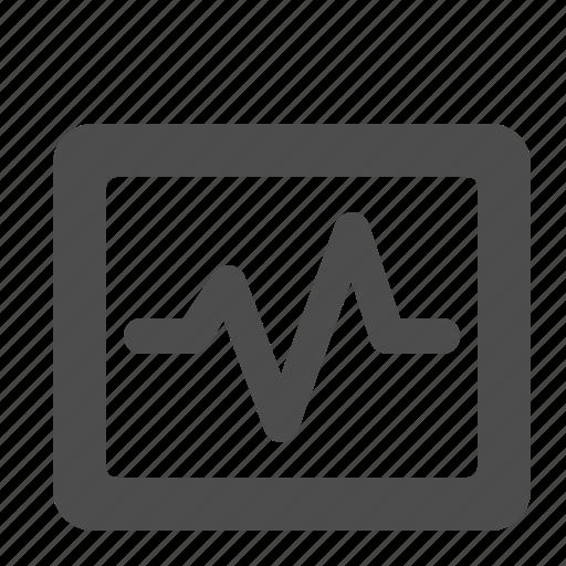 graph, health, lifeline, network, status icon