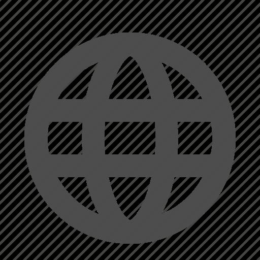communication, globe, internet, network, web icon