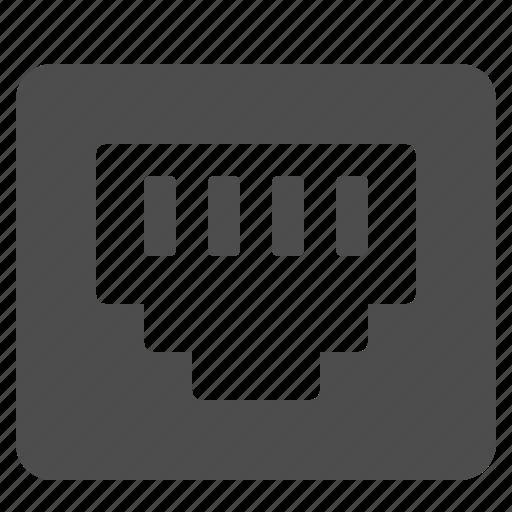 network, plug icon