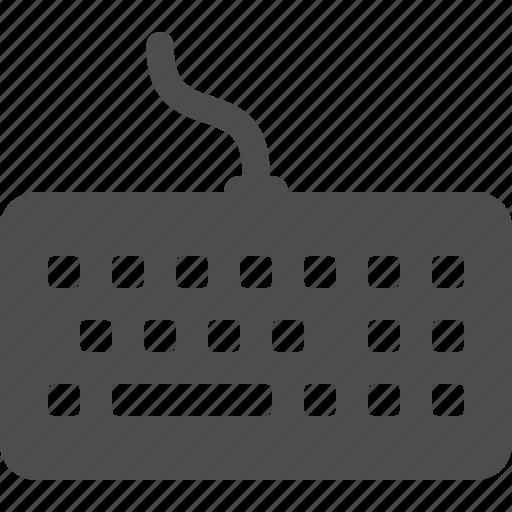 computer, keyboard icon