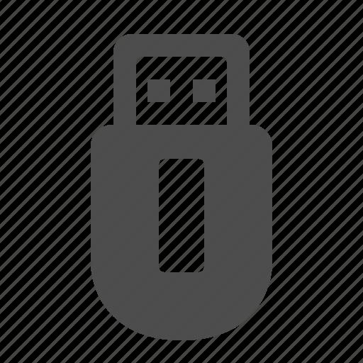 drive, memory, stick, usb icon
