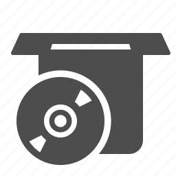 box, cd, disc, disk, dvd, software icon