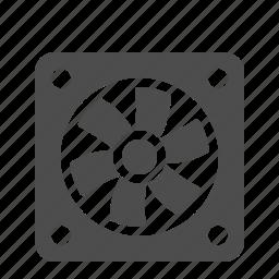 cooler, cooling fan, cpu fan, fan icon