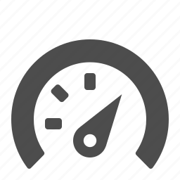 gauge, speed, speedometer icon