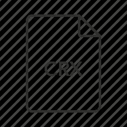 chrome, chrome extension, crx, crx file, crx icon, google, google chrome icon