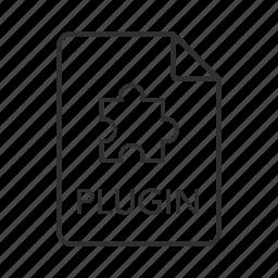 mac os x, mac os x plugin, pligin, plugin file, plugin icon, puzzle, puzzle piece icon