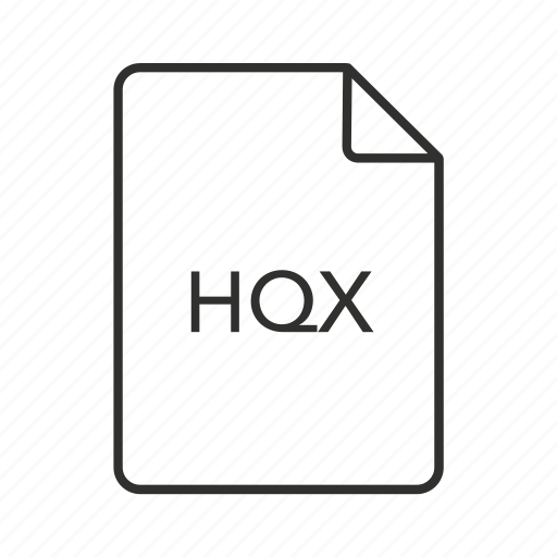 binhex, binhex 4.0 encoded, binhex 4.0 encoded file, hqx, hqx file, hqx file icon, hqx icon icon