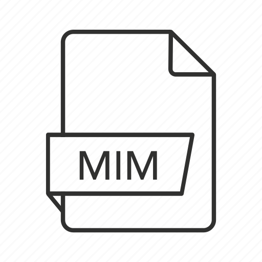 mim, mim file, mim file icon, mim icon, multi-purpose internet mail, multi-purpose internet mail message, multi-purpose internet mail message file icon