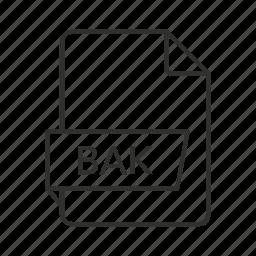 backup, backup file, backup icon, bak, bak file, bak file icon, bak icon icon
