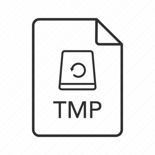 file, file icon, temp, temp file, temporary, temporary file, tmp icon