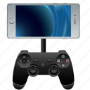 application, computer, console, controller, game, gamepad, gaming, hardware, joystick, pad, phone, play, playstation, smartphone icon