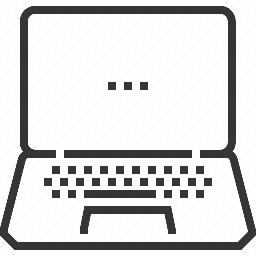 computer, electronics, internet, laptop, notebook, tablet, technology icon