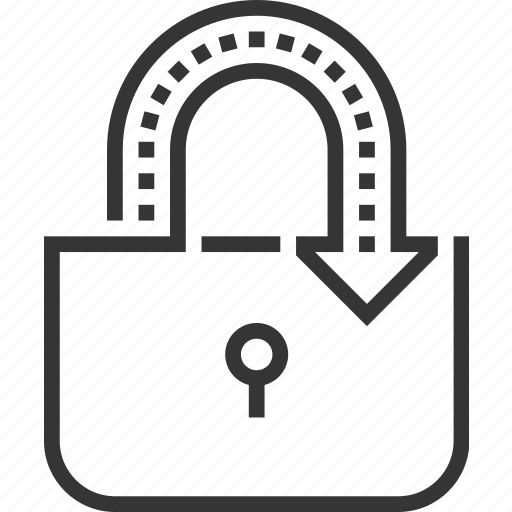 connect, connection, internet, lock, protected, security, virus icon