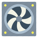 domotics, electronics, fan, ventilation icon
