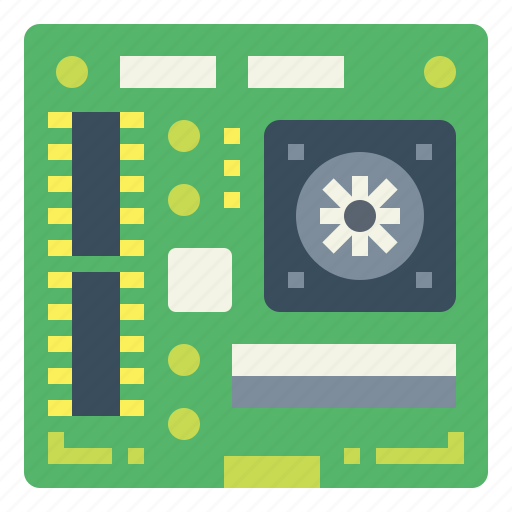 Cpu, electronics, mainboard, rom icon - Download on Iconfinder