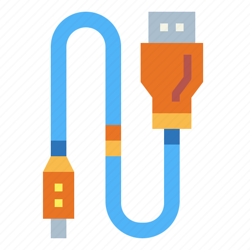 cable, connection, technology, usb icon