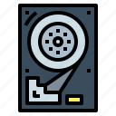 backup, data, disc, harddrive, storage icon
