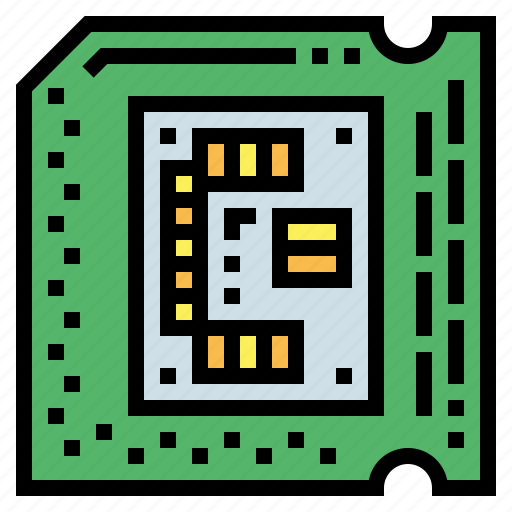 Chip, computer, processor, ram icon - Download on Iconfinder