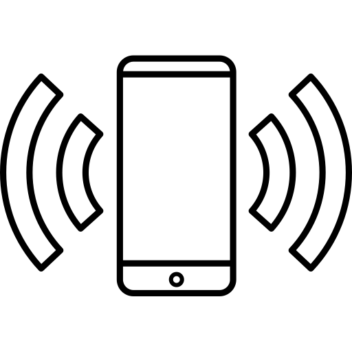 active, connected, connection, device, interact, mobile, phone icon