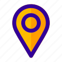 dot, location, map, maps, navigation, pin