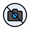 camera, photo, notallowed, restricted, stop icon