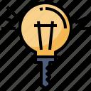 bulb, creative, ideas, inspiration, key, people