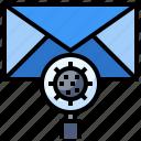 communications, delete, envelope, forbidden, no spam icon