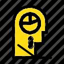 hat, human, man, profile icon