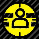 man, marketing, profile icon