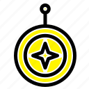 badge, honor, medal, shield, star icon